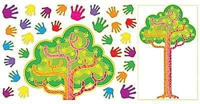 Bulletin Board Sets, Hands in Harmony - Tree