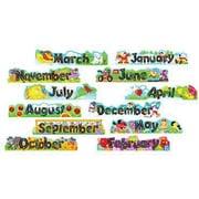 Alpha-Beads 12 Monthly Headers Mini Bulletin Board Set