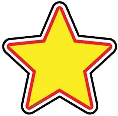 Trend® Mini Accents, Star
