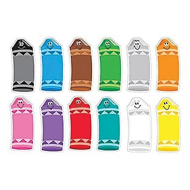 Trend Enterprises® Pre-kindergarten - 2nd Grades Classic Accents, Crayon Colors