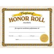 "Trend Enterprises® Certificate of Honor Roll, 8 1/2""(L) x 11""(W)"