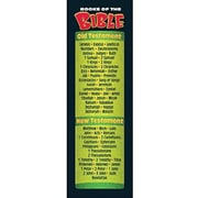 Trend Enterprises® Books of The Bible Bookmark, Grades 1st - 9th