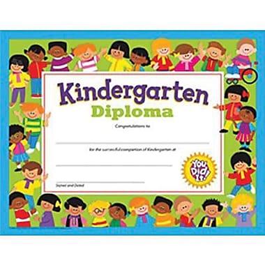 Trend Enterprises Kindergarten Diploma, 8 1/2