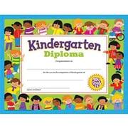 "Trend Enterprises Kindergarten Diploma, 8 1/2"" X 11"", 120/Pack (T-17005)"