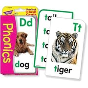 Trend Enterprises® Phonics Pocket Flash Cards, Grades Kindergarten - 3rd