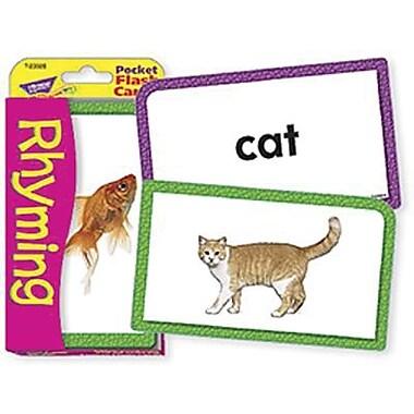 Trend Enterprises® Rhyming Pocket Flash Cards, Grades Kindergarten - 2nd