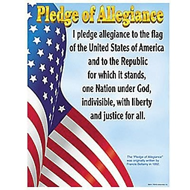 Trend Enterprises® Pledge of Allegiance Learning Chart