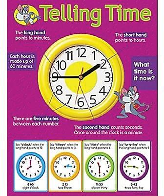 Trend Enterprises® Telling Time Learning Chart
