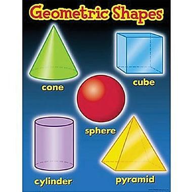 Trend Enterprises® Geometric Shapes Learning Chart
