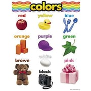 Trend Enterprises® Colors Learning Chart