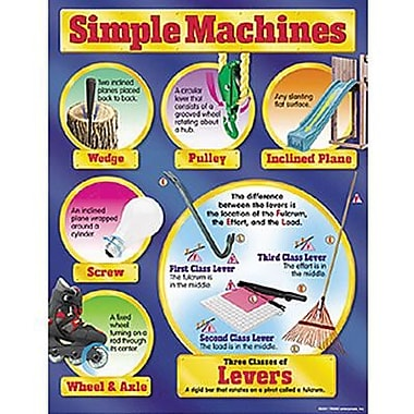 Trend Enterprises® Simple Machines Learning Chart
