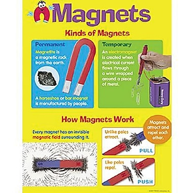 Trend Enterprises® Magnets Learning Chart, Grades 2nd - 5th