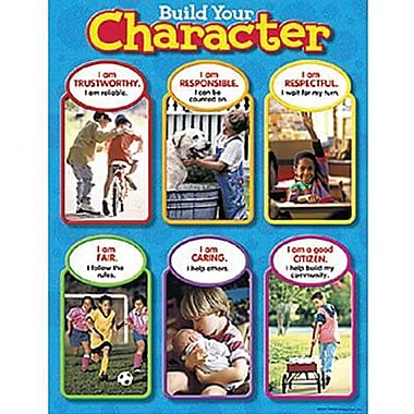 Trend Enterprises® Build Your Character Learning Chart