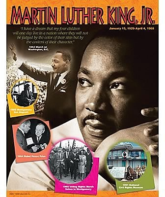 Trend Enterprises® Martin Luther King Jr. Learning Chart