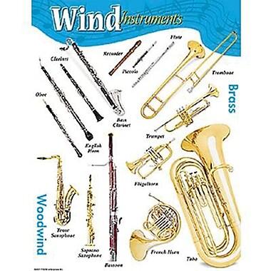 Trend Enterprises® Wind Instruments Learning Chart