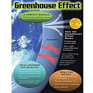 Trend Enterprises® Greenhouse Effect Learning Chart