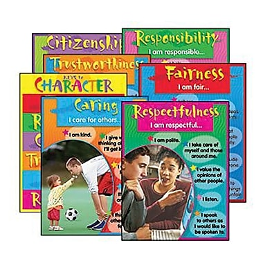 Trend Enterprises Character Education Learning Chart, 7/Pack (T-38907)