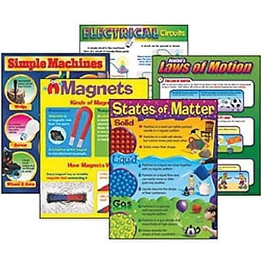 Trend Enterprises® Physical Science Learning Chart, Combo Pack