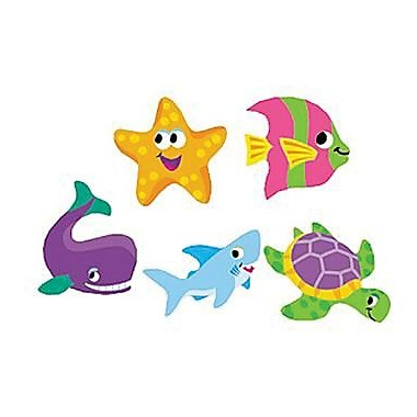 Trend Enterprises® SuperShapes Stickers, Sealife