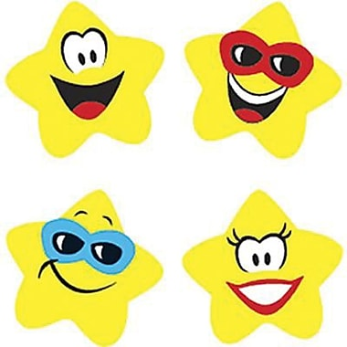 Trend Enterprises Supershapes Stickers, Star Brights, 8000/Pack (T-46069)