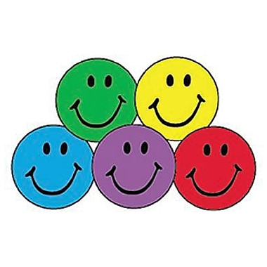 Trend Enterprises Superspots Stickers, Colourful Smiles, 8000/Pack (T-46134)