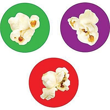 Trend Enterprises® SuperSpots® Stickers, Popcorn Time