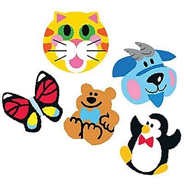 Trend Enterprises® SuperShapes Stickers, Animals, 2500/Pack (T-46904)