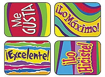 ¡Excelente! - Spanish Outstanding Words Applause STICKERS®