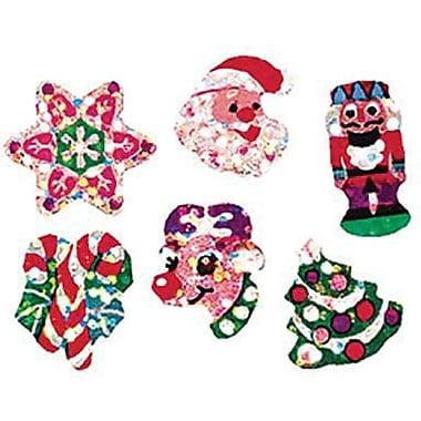 Trend Enterprises® Sparkle Stickers, Christmas Joys