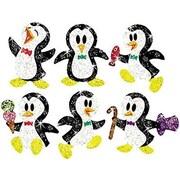 Trend Enterprises® Sparkle Stickers, Proud Penguins