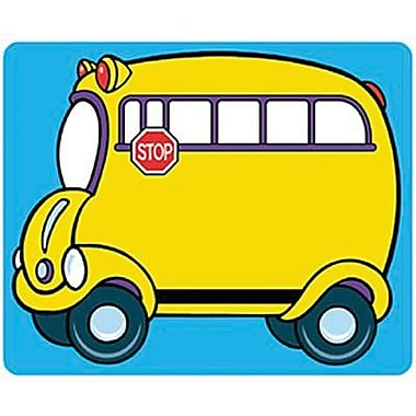 Trend Enterprises Kindergarten - 2nd Grades Name Tag, School Bus, 216/Pack (T-68001)