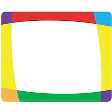 Trend Enterprises 2nd - 9th Grades Name Tag, Color Bright, 288/Pack (T-68004)