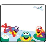 Trend Enterprises® Kindergarten - 6th Grades Name Tag, Fun Frogs