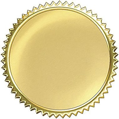 Trend enterprises award seals stickers gold burst 192 pack t 74001