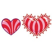 Trend Enterprises® Stinky Stickers, Kaleidoscope Hearts/Cherry