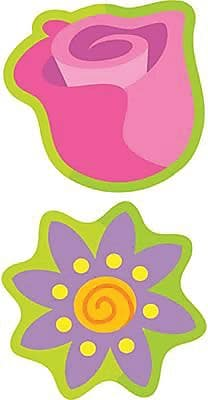 Trend® Stinky Stickers®, Mixed Shape, Garden Flowers Scented Floral