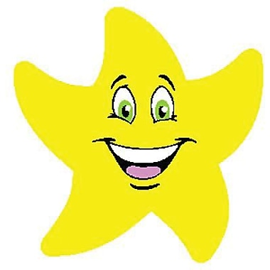 Trend Enterprises® Stinky Stickers, Colorful Star Smiles/Fruit Punch