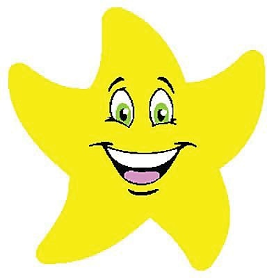 Trend® Stinky Stickers®, Colorful Star Smiles (Fruit Punch)