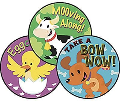 Trend® Stinky Stickers®, Large Round, Fabulous Farm Scented Honey