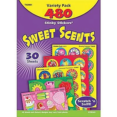 Trend Enterprises Stinky Stickers, Sweet Scents, 480/Pack (T-83901)
