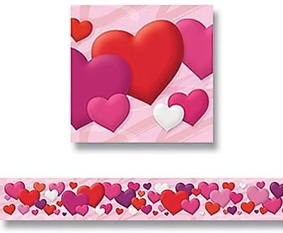 Hearts Bolder Border®, 11 panels, 35-3/4'/pkg