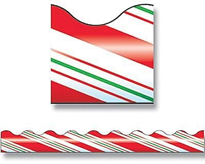 Trend® Terrific Trimmers®, Candy Cane Stripes