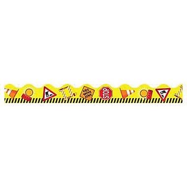 Trend Enterprises® Pre-Kindergarten - 2nd Grades Scalloped Terrific Trimmer, Work Zone