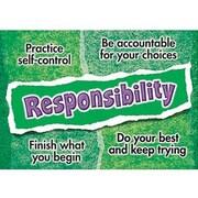 Trend Enterprises® ARGUS® Poster, Responsibility