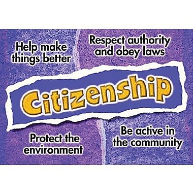 Trend Enterprises® ARGUS® Poster, Citizenship