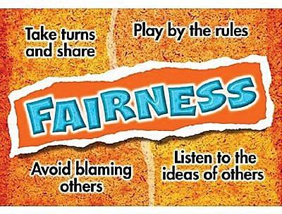 Trend Enterprises® ARGUS® Poster, Fairness