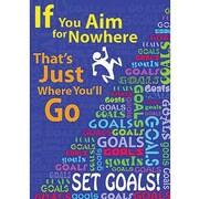 Trend Enterprises® ARGUS® Poster, If You Aim For Nowhere