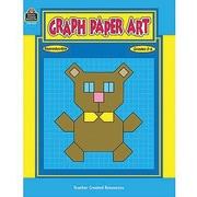 Teacher Created Resources® Graph Paper Art Book, Grades 2nd - 6th