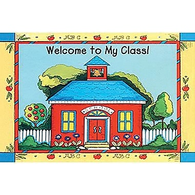 Teacher Created Resources® School House Welcome Postcard
