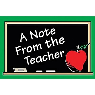 Teacher Created Resources A Note From The Teacher Postcard, 30/Pack (TCR1202)